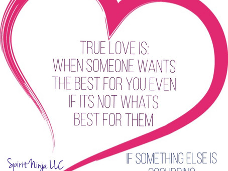 Relationships work - when love is selfless