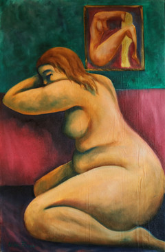 Dreaming Oil on canvas 70x90 cm