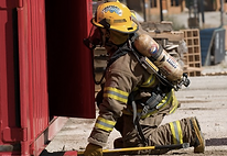 Firefighter training gallery