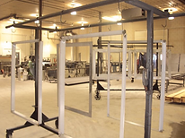 Fire training building components
