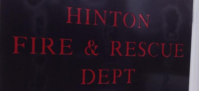 Fire training Centre in Hinton, Alberta