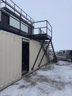Virden, MB - Fire Training Building