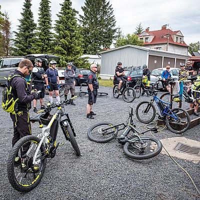 Electric Bikers Camp 1