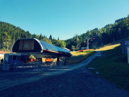 Trail park Klínovec...poprvé...