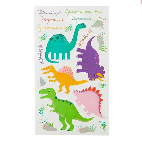 Roar some Dinosaurs Wall Stickers Set