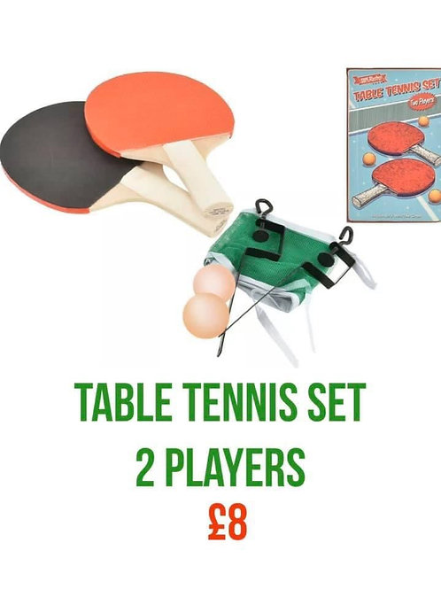 TENNIS TABLE SET 2 PLAYERS