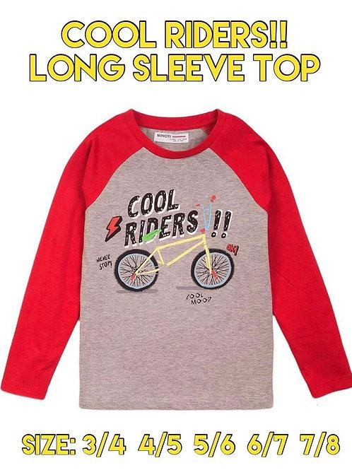 COOL RIDERS LONG SLEEVE TOP