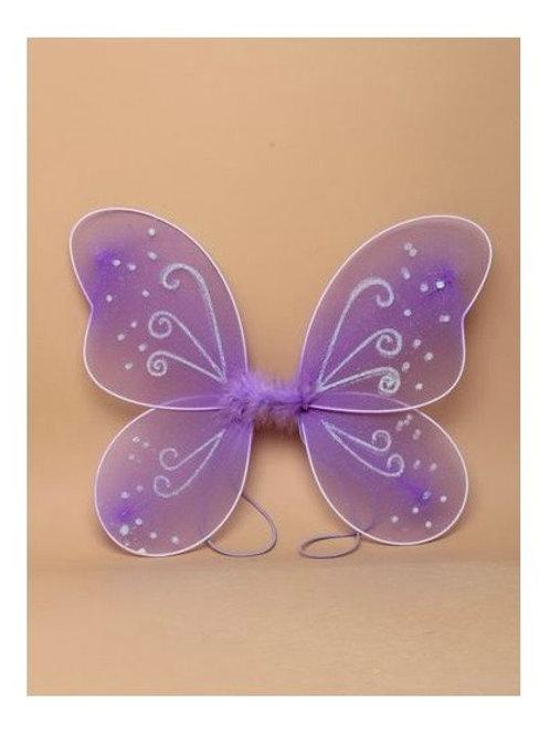 Purple  Net Fairy Wings