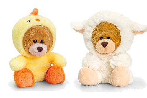 Pipp the Bear Chick or Bear Lamb With Onesie Soft Toy