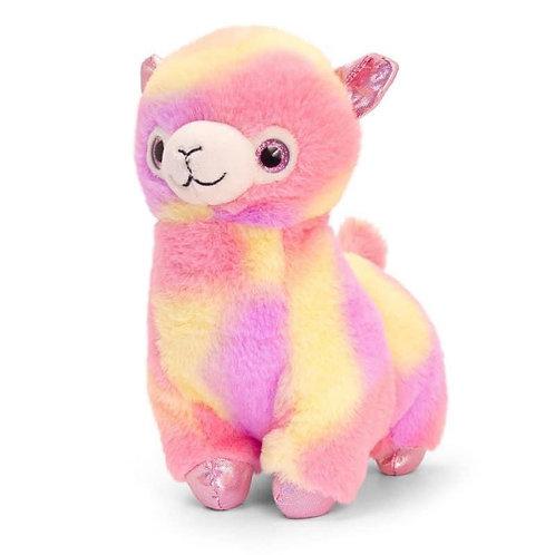 Plush Keel Toy Rainbow Lama