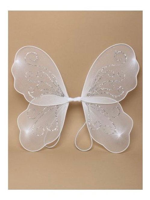 White  Net Fairy Wings