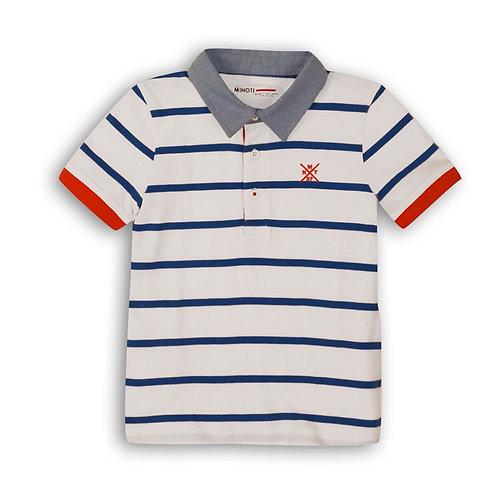 Coastal Striped Polo Shirt From Age 3-8Y