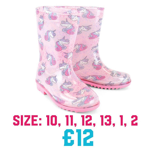 Unicorn Wellington Boots -Click & Collect Only