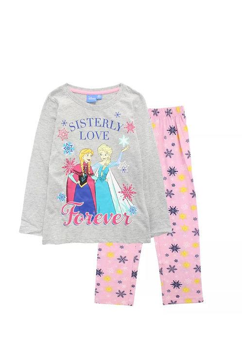 Disney Frozen Girls Long Sleeve Pyjamas -