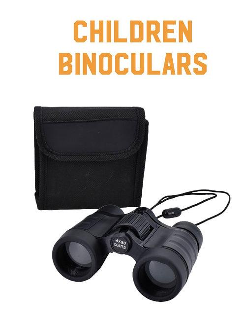 Realistic  Children Retro  Binoculars