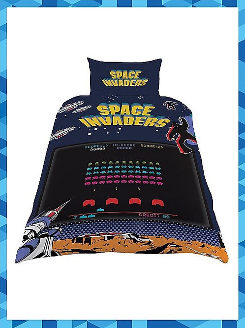 Space Invaders Single Duvet Set