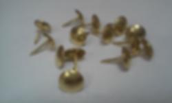 Гвозди  Латунь 100 1/3  d=9.5mm штифт=12,7мм