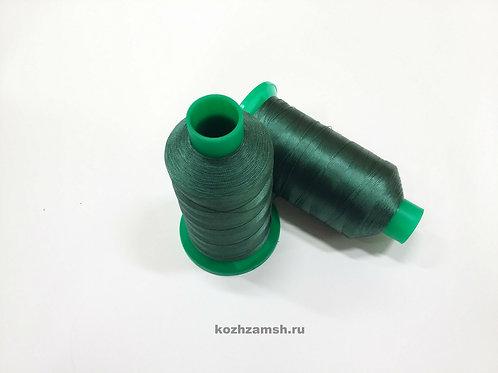 Нитки швейные MAKRO THREAD№20 1500 м  Цвет №125  Ярко-Зеленый