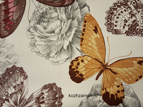 Велюр Butterflies 2D-2