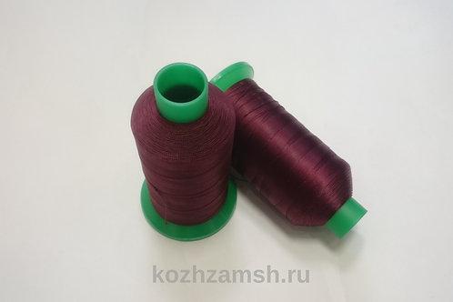 Нитки швейные MAKRO THREAD№20 1500 м  Цвет №24  Бордовый