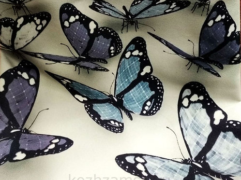 Велюр Butterflies 3D-3