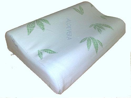 Подушка двухволновая  малая в наволочке и сумке  50*32*10/8мм