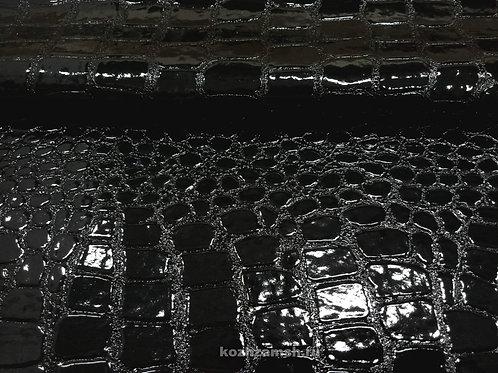 Crocodile Shine Black