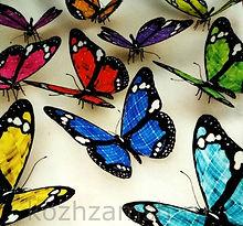 Мебельная ткань Butterflies 3D-1
