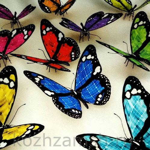 Велюр Butterflies 3D-1