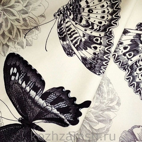 Велюр Butterflies 2D-3
