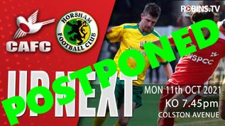 Horsham Postponed