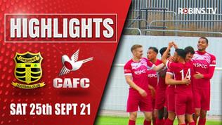 Cheshunt vs Carshalton Athletic  Highlights