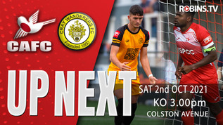 Robins renew rivalry with Cray Wanderers
