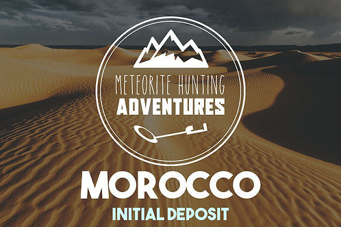 MOROCCO Expedition - Initial Deposit