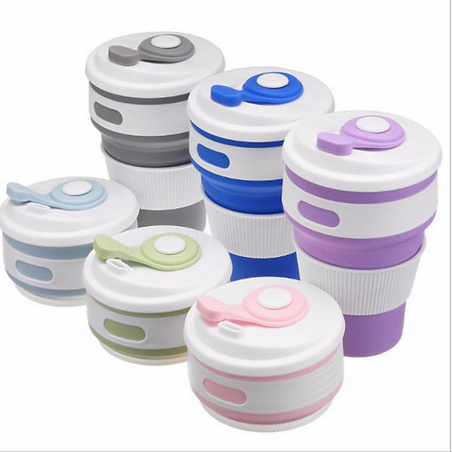 Sippy coffee cup- collapsible