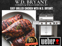 Grill up something healthy with W.D. Bryant!