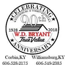 W.D. Bryant 90th logo image
