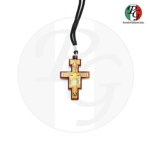 Cordão com cruz São Damião