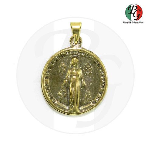 Medalha N. Sra das Graças redonda