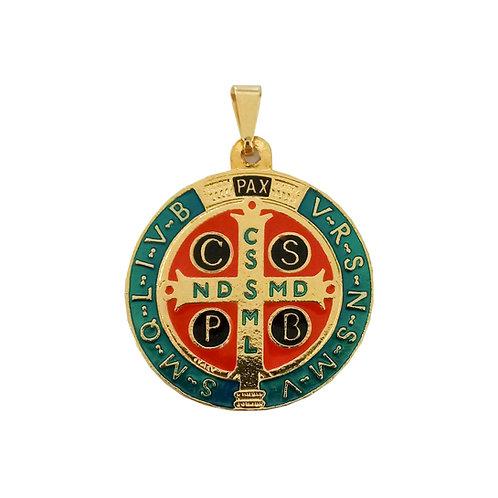 Medalha São Bento resinada