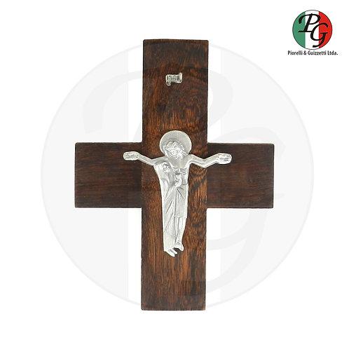 Cruz da unidade de madeira parede