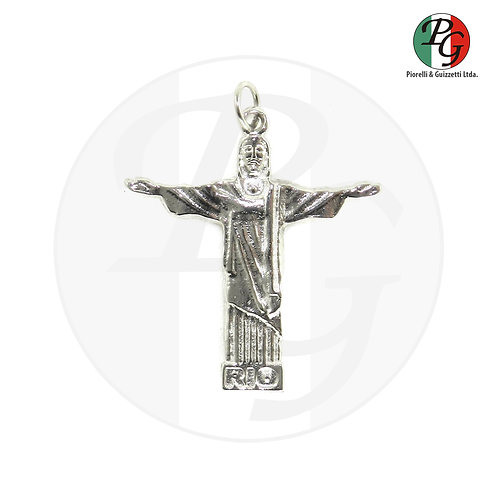 Cristo redentor com oração
