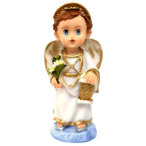 Imagem resina 7 cm criança Gabriel