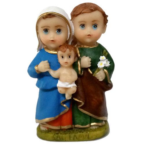 Imagem resina 7 cm criança Sag Família