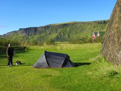 Campement à Vík í Mýrdal