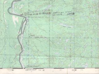 Les cartes de la rivière