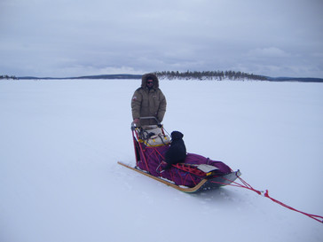 Le lac Inari