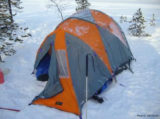 La tente de Thémis et moi