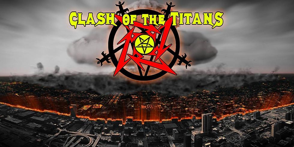 Clash of The Titans - The UK's Big 4 Tribute
