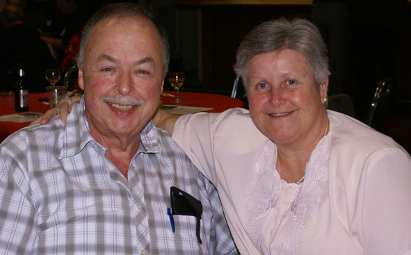 John and Barbara Shearer (January Party, 2008)